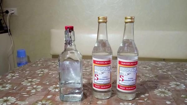 Как правильно приготовить водку на спирте