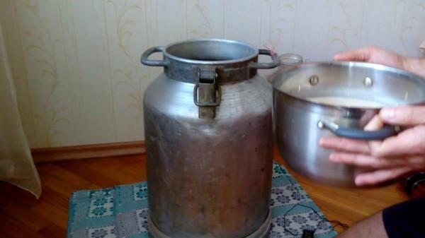 Процесс приготовления самогона