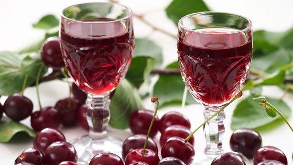 Как приготовить вишневую настойку