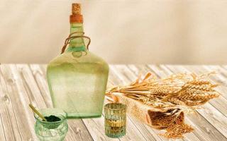 Ржаной самогон из зерна или муки с солодом – рецепт браги и технология приготовления напитка
