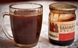 Квас из сусла в домашних условиях — пошаговое приготовление