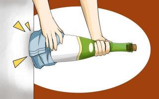 Как открыть вино без штопора – 5 способов победить бутылку подручными предметами