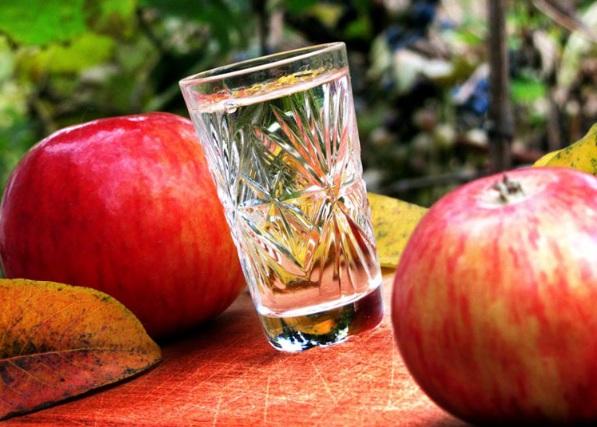 Рецепт браги из яблок без дрожжей