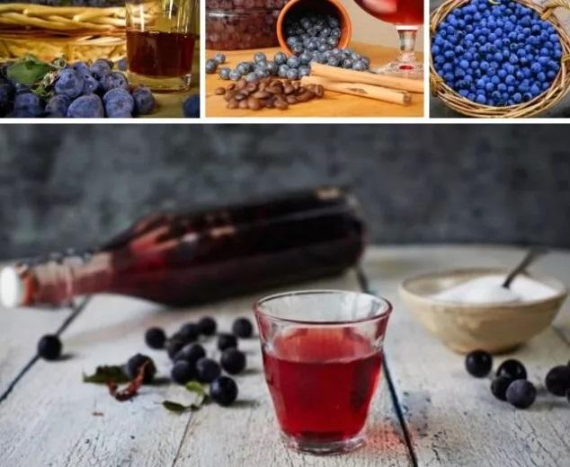 Крепленое вино из терна в домашних условиях
