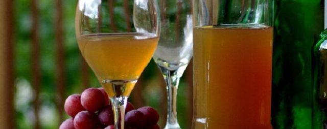 Готовим вино из листьев винограда или вишни - лучший рецепт