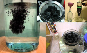 Как после очистки углем сделать самогон прозрачным