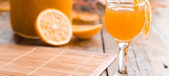 Мандариновая настойка на корках – рецепт и приготовление
