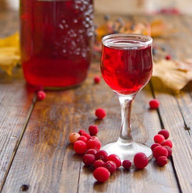 Клюковка – рецепт настойки из клюквы на водке (самогоне)