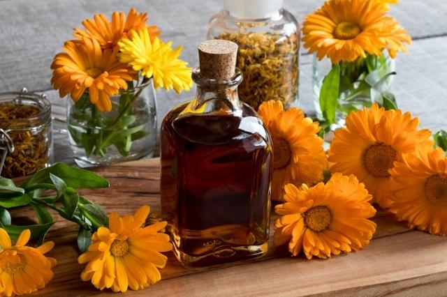 Настойка календулы на спирту: рецепт, применение, инструкция