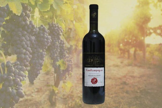 Красное вино «Киндзмараули» – понятие и особенности