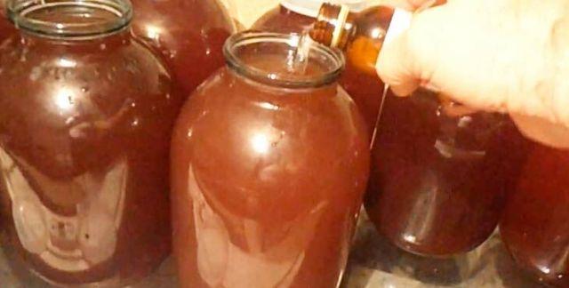 Домашнее вино из сливы с косточками – правильный рецепт