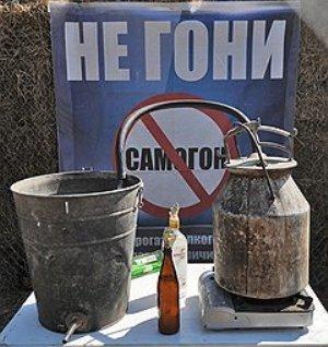 Ответственность за самогоноварение в России и Украине