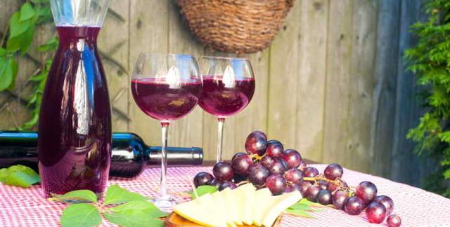 Вино из винограда Лидия – простой рецепт в домашних условиях