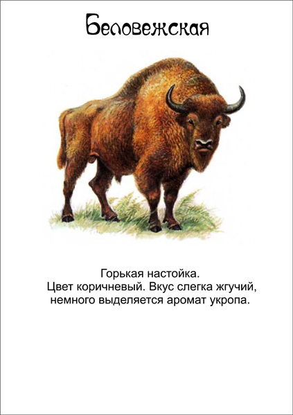 Настойка «Беловежская горькая»: состав и классический рецепт