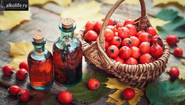 Питьевая домашняя настойка боярышника на водке – 2 рецепта