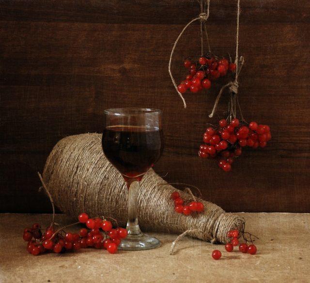 Домашнее вино из калины – рецепт и технология приготовления