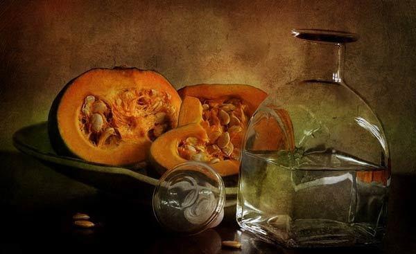 Самогон из тыквы – рецепт браги с сахаром и без