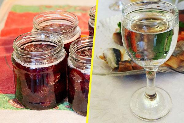 Самогон из малины – рецепт браги и правильная перегонка