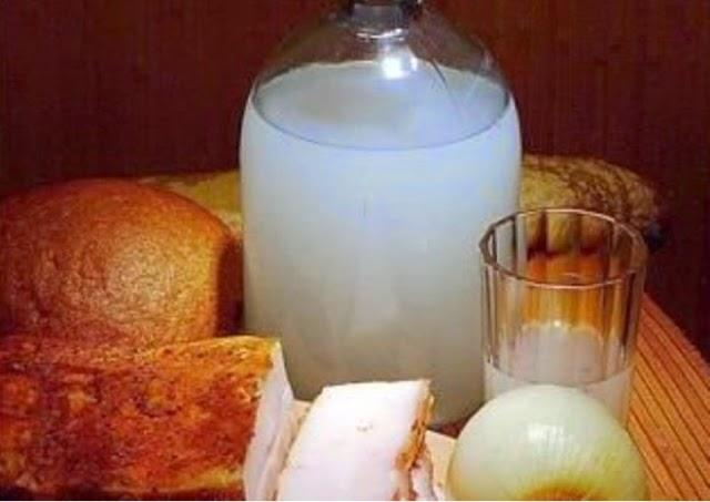 Мутность зернового самогона или помутнение при добавлении воды